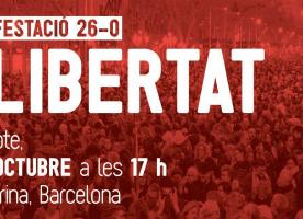 El Tercer Sector s'adhereix a la manifestació del 26 d'octubre