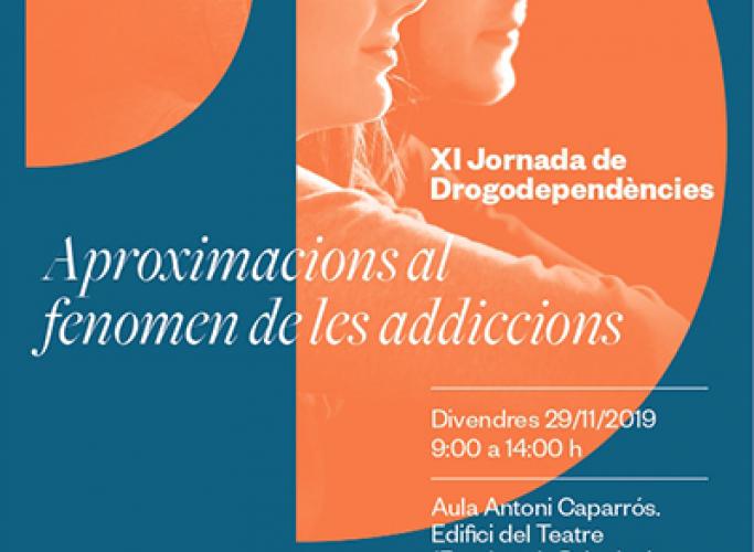 XI Jornada de Drogodependències de Projecte Home, 29 de novembre