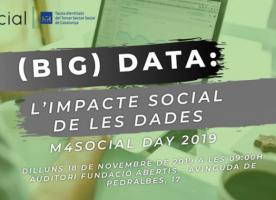 m4Social day 2019: Big Data i l'impacte social de les dades, 18 de novembre