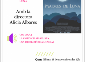 Projecció del curtmetratge 'Madres de luna', 18 de novembre