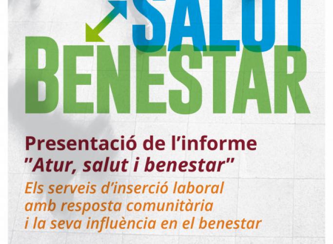 Presentació de l'informe 'Atur, salut i benestar', 26 de novembre