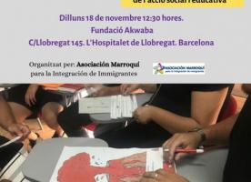 Taller sobre diversitat i convivència, 18 de novembre