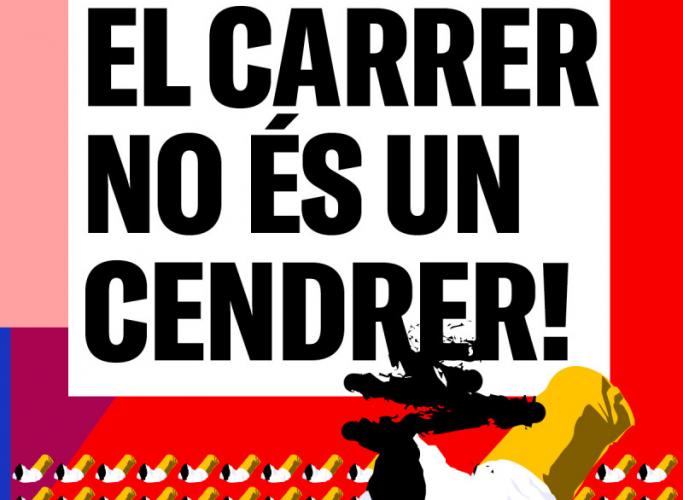 Campanya de sensibilització 'El carrer no és un cendrer' i 'Burillató' el 22 de novembre