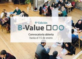 Oberta la convocatòria de la 4a edició del programa B-Value