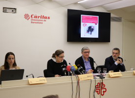 Càritas Barcelona presenta l'Informe Foessa 2019 apuntant a tres factors clau per entendre l'exclusió: habitatge, precarietat laboral i migracions