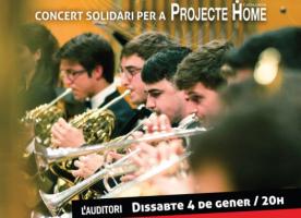 'Junts', concert solidari de la JONC a favor de Projecte Home, 4 de gener
