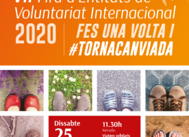 7a edició de la Fira de Voluntariat Internacional #TornaCanviada, 25 de gener