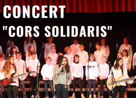 Concert 'Cors solidaris, per un món ple d'oportunitats', 31 de gener a Barcelona