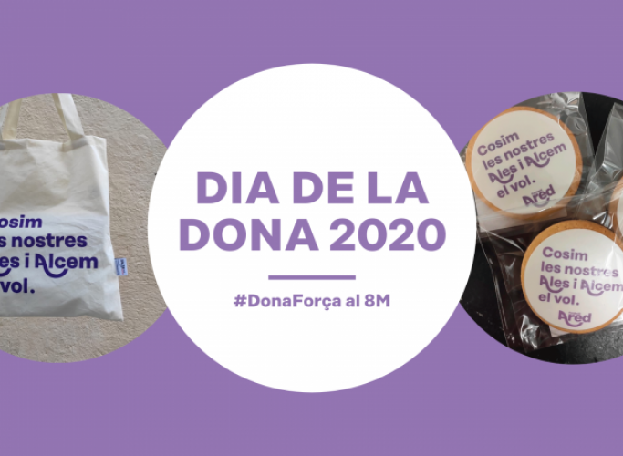Galetes i bosses solidàries d'Ared per al dia de la dona