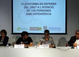 La Plataforma en Defensa dels Drets de les Persones amb Dependència reitera la necessitat de més recursos i més places en residències