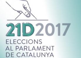 Taula rodona amb motiu de les eleccions del 21D amb partits polítics, organitzada per Fundació Marianao a Sant Boi l'11 de desembre