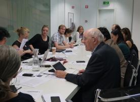 ECAS participa a l'assemblea general d'ESAN a Brusel·les