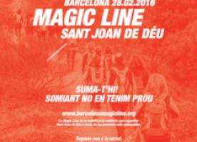 Followers solidaris per la Barcelona Magic Line