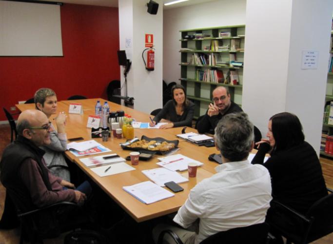 Sessió d'acollida a les noves entitats membres d'ECAS