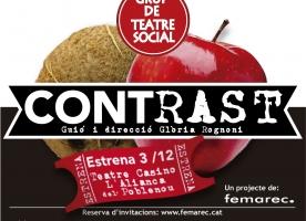 Nova estrena de teatre social de Femarec, dimecres 3 de desembre
