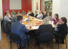 ECAS es reuneix amb les conselleries de Justícia i de Treball, Afers Socials i Famílies