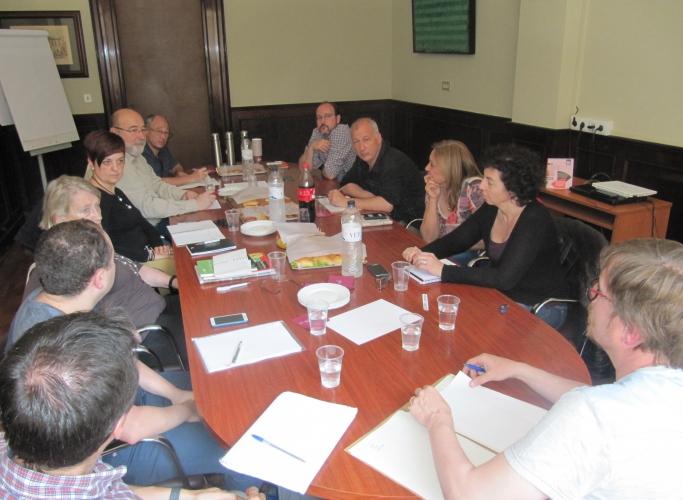 ECAS es reuneix amb Josep Vidal Director General d'Economia Social, Tercer Sector, Cooperatives i Autoempresa
