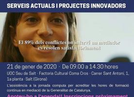 Jornada sobre mediació i gestió de conflictes a Girona, 21 de gener