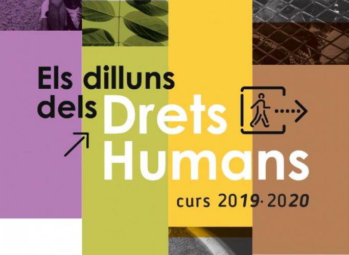 Cicle de conferències 'Els dilluns dels Drets Humans', a partir del 30 de setembre