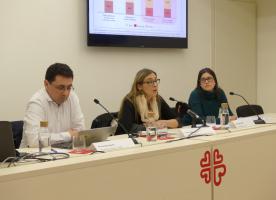El risc de pobresa de la població migrada triplica el de les persones nascudes a l'Estat espanyol | INSOCAT 11, 'Migracions i vulnerabilitat'