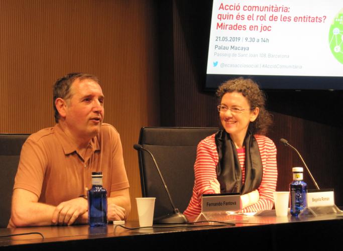 Més de 140 professionals debaten al voltant de l'acció comunitària en una jornada que qüestiona el rol de les entitats i reivindica la seva vocació transformadora
