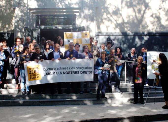 Pobresa Zero – Justícia Global denuncia la paràlisi política i reclama acció urgent i integral per complir els drets bàsics