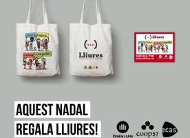 Tres anys del Projecte Lliures: trobada amb donants i campanya de Nadal