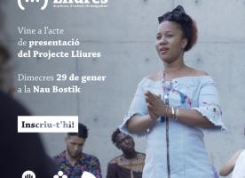 Acte de presentació del Projecte Lliures, 29 de gener