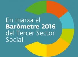 En marxa el Baròmetre 2016 del Tercer Sector Social