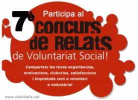 7è concurs de relats de voluntariat social