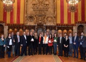 Lliurament dels Premis Barcelona a l'empresa innovadora en conciliació i temps