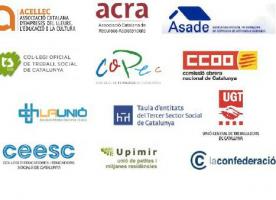 La Mesa unitària en defensa del sector social reclama una resposta al Govern davant les demandes exposades fa 20 dies