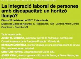 Debat sobre la integració laboral de les persones amb discapacitat, 23 de febrer a Granollers amb Social.cat