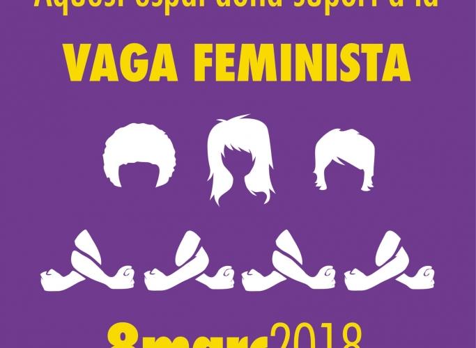 ECAS dona suport a la vaga general feminista del 8 de març